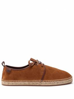 Dolce&Gabbana Suede lace-up espadrilles with rope sole A10592AX934