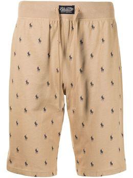 Polo Ralph Lauren спортивные шорты с принтом Polo Pony 714830280002