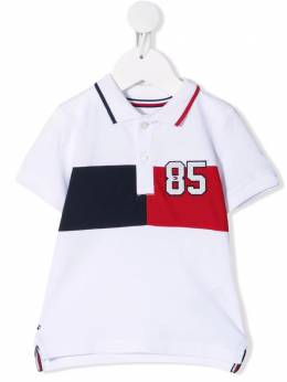 Tommy Hilfiger Junior embroidered short-sleeve polo shirt KN0KN01268