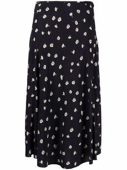 Rag&Bone юбка с завышенной талией и цветочным принтом waw21sb0057a