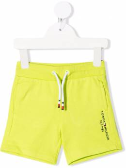 Tommy Hilfiger Junior logo-print cotton shorts KB0KB05671