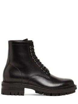 Кожаные Ботинки-комбат Dsquared2 74IGH4002-MjEyNA2