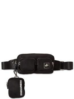 Nylon Belt Bag W/ D2 Leaf Plaque Dsquared2 74IG7F031-MjEyNA2