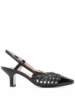 Pinko woven slingback sandals 1H20TRY71GZ99