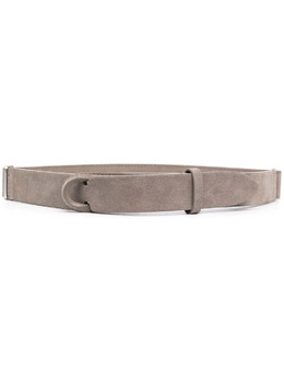 Orciani double buckle thin belt NB0060SUE