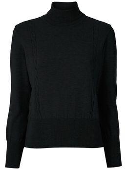 Cecilia Prado трикотажная блузка с высоким воротником 20100