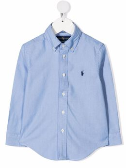 Ralph Lauren Kids Polo Pony button-down shirt 321799000
