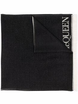 Alexander McQueen шарф с принтом 6654943200Q