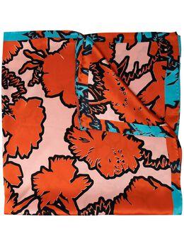 Paul Smith Rave floral-print silk scarf W1A705FFS01