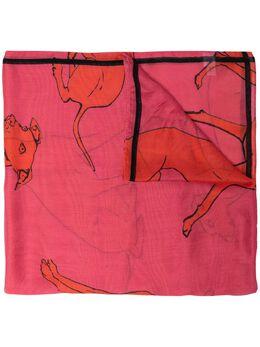 Paul Smith greyhound-print scarf W1A668FFS07