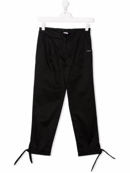Pinko Kids TEEN elasticated-waist knotted-detail trousers 027288