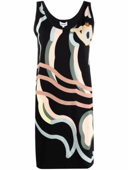 Kenzo K-Tiger printed tank dress FB52RO7874SB