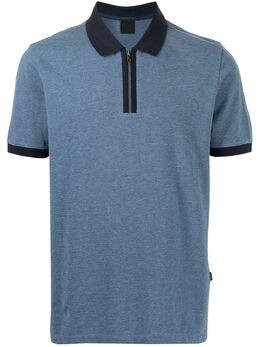 D'Urban рубашка поло с контрастным воротником D4150003I037