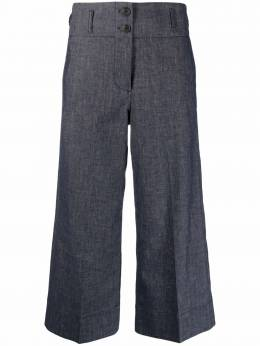 Paul Smith cropped wide-leg trousers W1R232TF10575