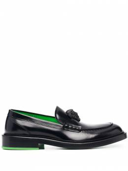 Versace La Medusa leather loafers DSU8553D9VAC
