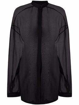 Haider Ackermann полупрозрачная рубашка 2132000110
