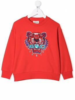 Kenzo Kids logo embroidered sweatshirt K25091