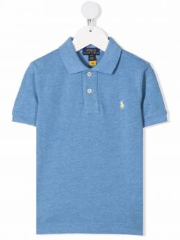 Ralph Lauren Kids Polo Pony-embroidered polo shirt 32170363