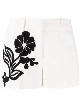 Ermanno Scervino floral-embroidered shorts D386P713RNSN