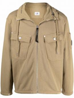 C.P. Company concealed hood jacket 10CMSS229A006063G