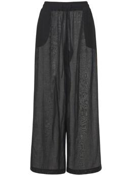Mousseline Straight Pants Ag 74IYCX003-TkVSTw2