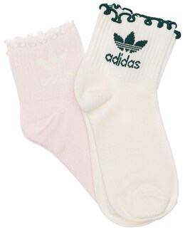 Хлопковые Носки 2 Пары Adidas Originals 73IE86030-QTZWVC8wODUx0