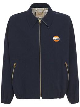 Куртка Из Хлопка И Нейлона Gucci 74IXBO055-NDU2MA2