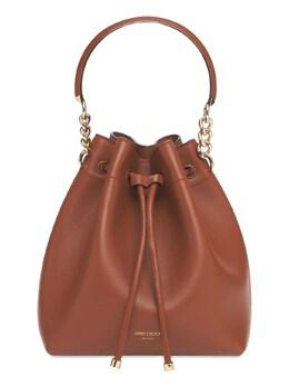 Bon Bon Leather Bucket Bag Jimmy Choo 74IG33002-REFSSyBUQU4vTElHSFQ1