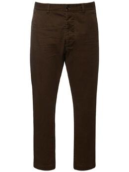 Hockney Stretch Cotton Twill Pants Dsquared2 74I04Y065-NzI40