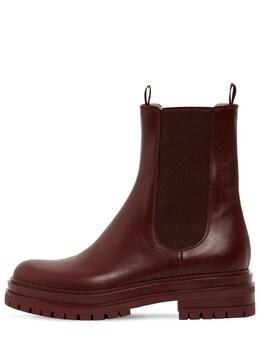 Кожаные Ботинки 30мм Gianvito Rossi 72IAI4005-TUVSTA2
