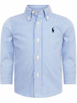 Ralph Lauren Kids Polo Pony-embroidered cotton shirt 320819240001A