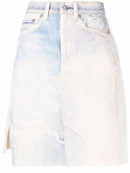 Our Legacy short craft denim skirt W2215SDPB
