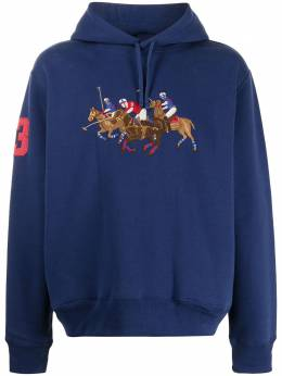 Polo Ralph Lauren embroidered polo game hoodie 710823853