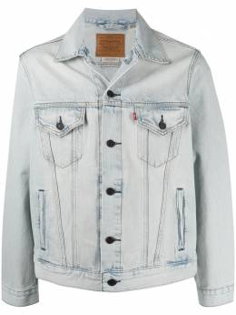 Levi's куртка из вареного денима 77380