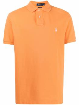 Polo Ralph Lauren piqué embroidered polo shirt 710782592