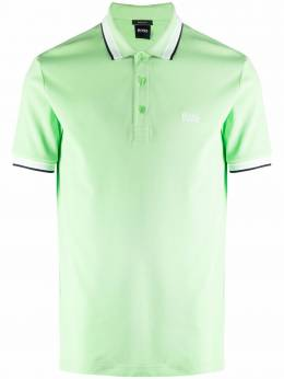 Boss by Hugo Boss рубашка поло с отделкой в полоску 50398302324