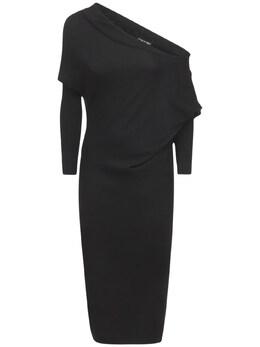 Cashmere & Silk Knit Dress Tom Ford 74IYAM012-TEI5OTk1