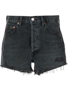 Agolde джинсовые шорты Parker с завышенной талией A026B1157