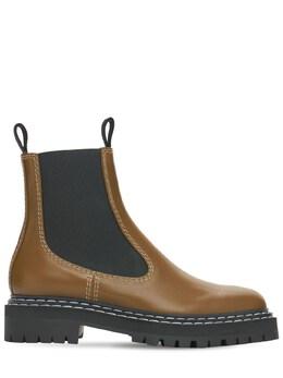 Кожаные Ботинки Челси 30mm Proenza Schouler 74I82B009-NDE30