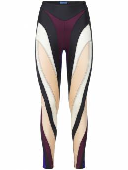Lvr Exclusive Sheer Leggings Mugler 74I1KT060-TTcxNA2