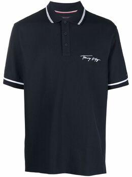 Tommy Hilfiger рубашка поло с вышитым логотипом MW0MW17806