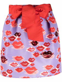 Elisabetta Franchi мини-юбка с принтом GO45513E2