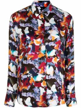 Ps by Paul Smith рубашка Marble Floral на пуговицах W2R019BF30751