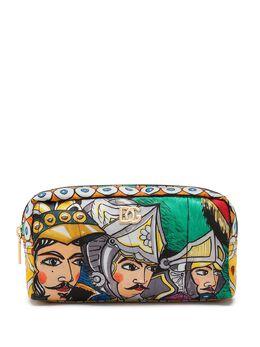 Dolce&Gabbana косметичка с графичным принтом BI0932AW426
