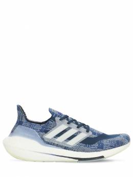 Ultraboost 21 Primeblue Sneakers Adidas Performance 73IGZQ010-RlVUVVJFV0hJVEU1