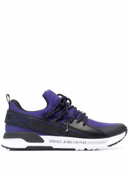 Versace Jeans Couture colour-block knitted sneakers E0YWASA380041