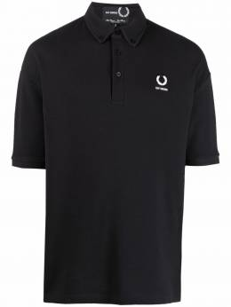 Raf Simons X Fred Perry button-down polo shirt SM185438