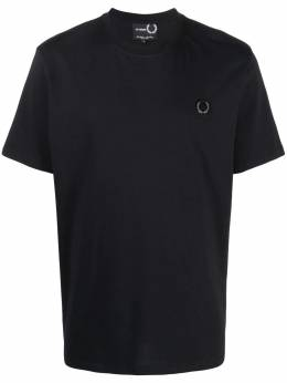 Raf Simons X Fred Perry logo-embroidered T-shirt SM1855