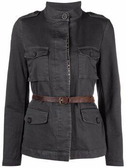Bazar Deluxe куртка с поясом S6672000
