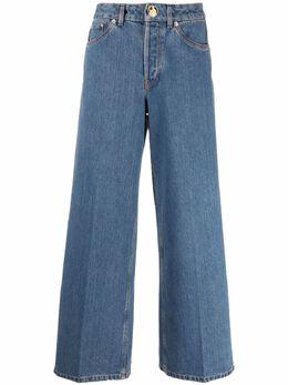 Lanvin mid-rise wide-leg jeans RWTR0024D002E21